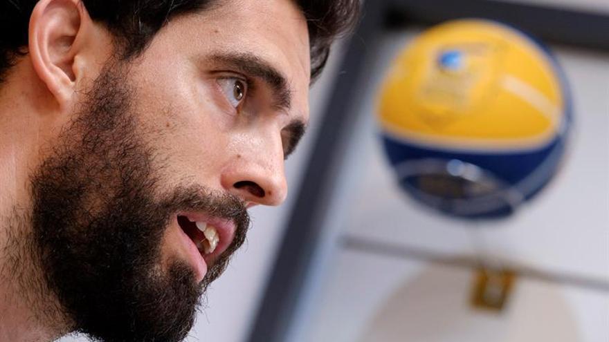 Javier Berián vuelve este jueves a defender los colores del Granca.
