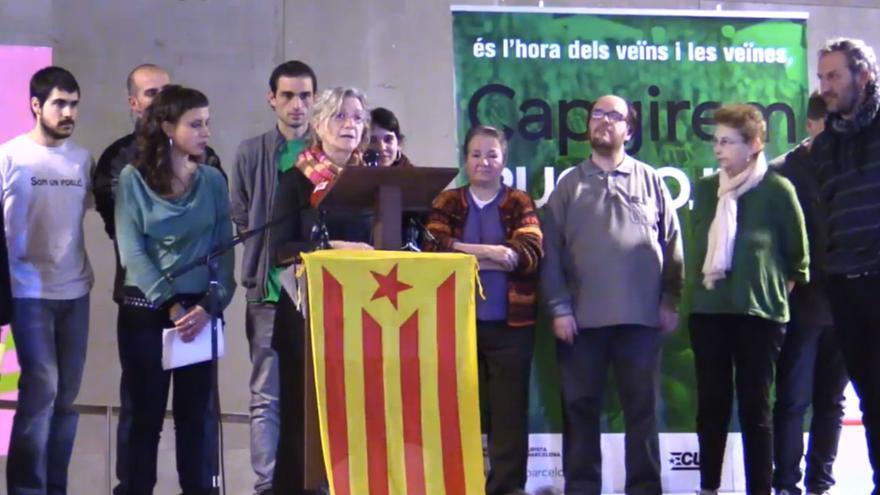 Acto presentación Capgirem Barcelona María José Lecha