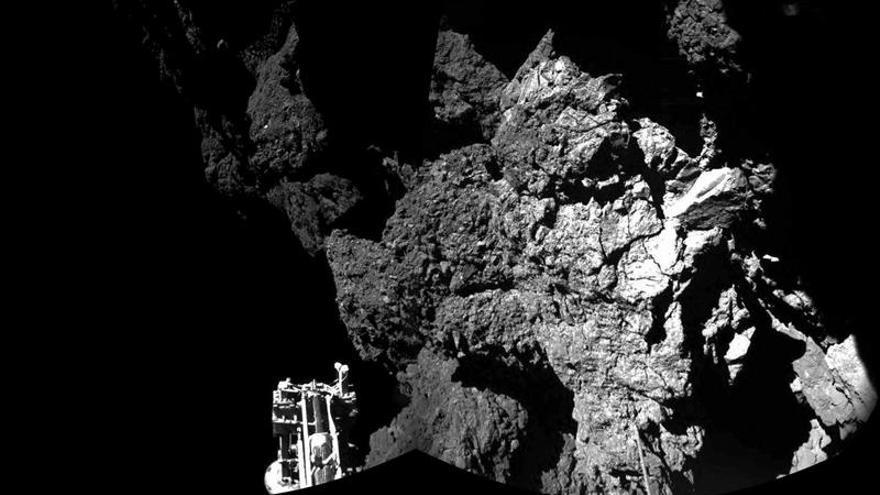 Philae inicia sus pruebas, pero podría apagarse en horas por falta de energía