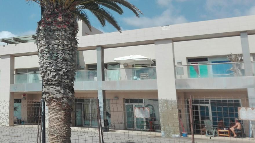 Mañana tendrá lugar el desalojo de los ocupas del centro comercial de Los Tarajales