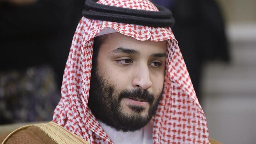 El príncipe heredero saudí viaja a EEUU para reforzar los lazos bilaterales