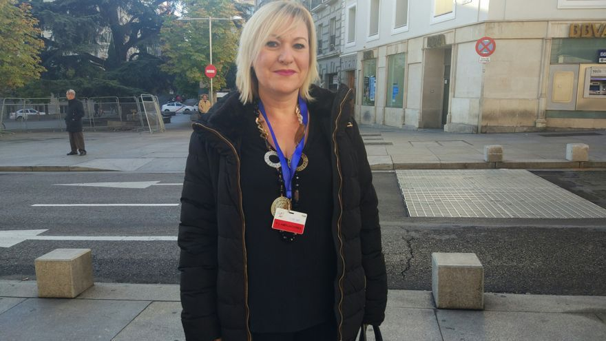 Inés Madrigal, presidenta de la asociación de bebés robados de Murcia