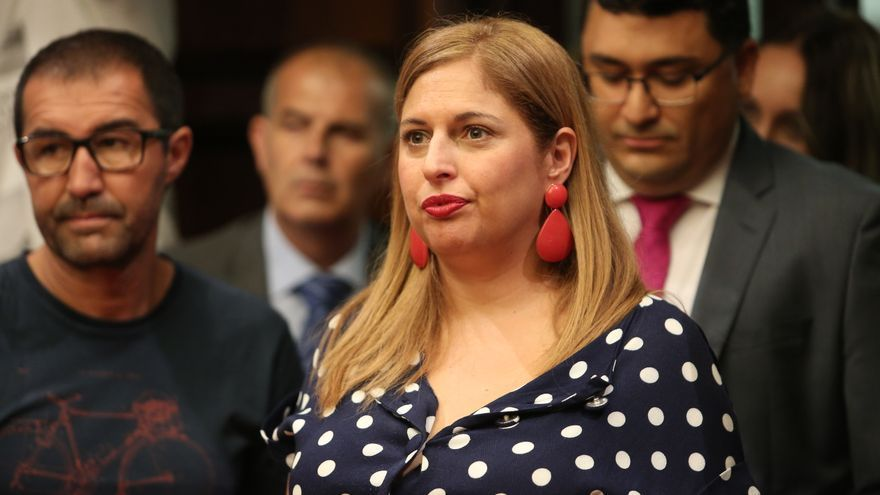 La consejera de Política Social y Accesibilidad del Cabildo de Gran Canaria, Isabel Mena.