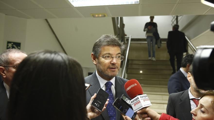 """Catalá dice que, antes de impugnar los presupuestos de Cataluña, existen """"mecanismos"""" para solucionar los conflictos"""