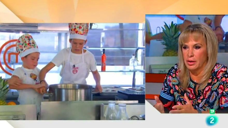 TVE compara la presión de 'Masterchef Junior' con 'la que hay en cualquier colegio'