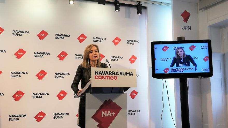 Archivo - Cristina Ibarrola, portavoz de Navarra Suma en la Comisión de Salud del Parlamento foral