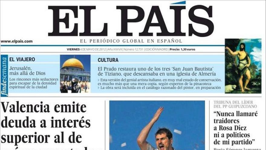De las portadas del día (04/05/2012) #8