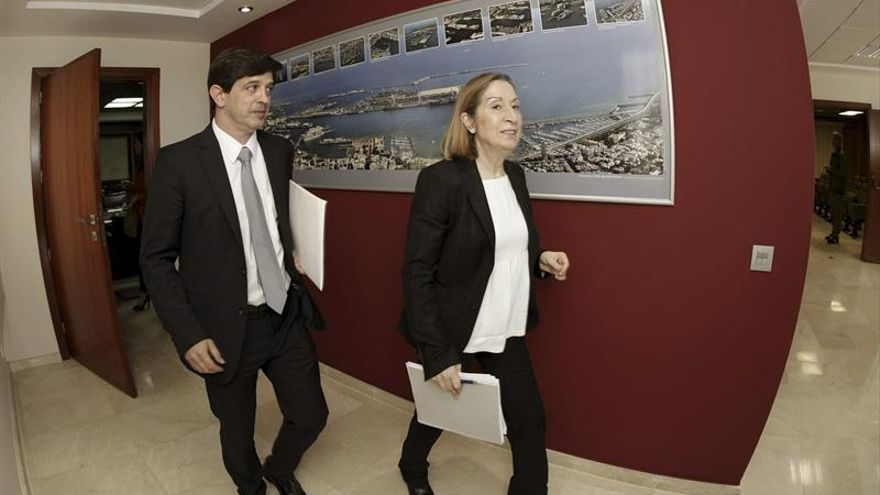 La ministra de Fomento Ana Pastor. Foto: EFE