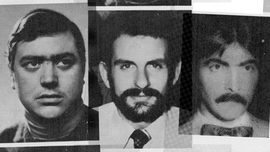 Luis Cobo, Luis Montero y Juan Mañas fueron asesinados por la Guardia Civil.