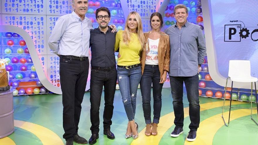 TVE presentó su 'Poder canijo' con Juan y Medio, Berta Collado, Flipy, Elena Furiase y Picazo