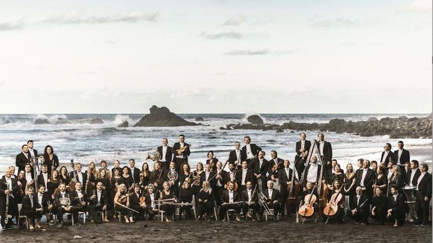 Orquesta Sinfónica de Tenerife.