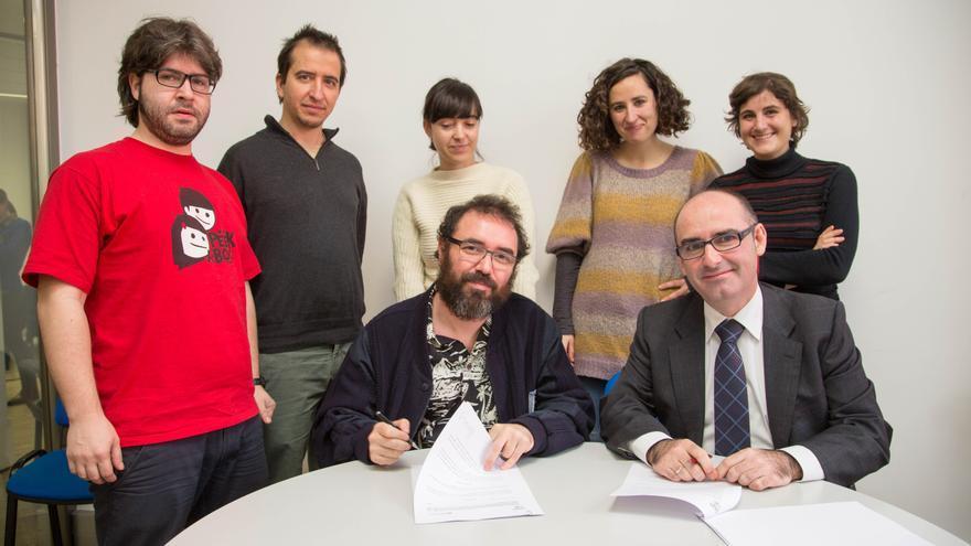 Ayuntamiento impulsa un centro para generar actividad económica y cultural en Bilbao La Vieja, San Francisco y Zabala