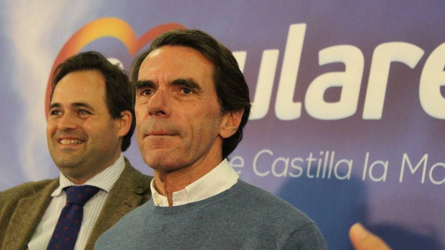 José María Aznar con Paco Núñez