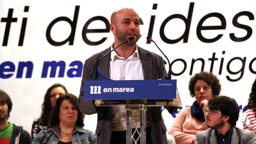 Luís Villares, portavoz de En Marea