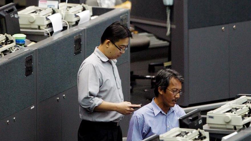 Parqués del Sudeste Asiático abren al alza, menos Singapur y Malasia