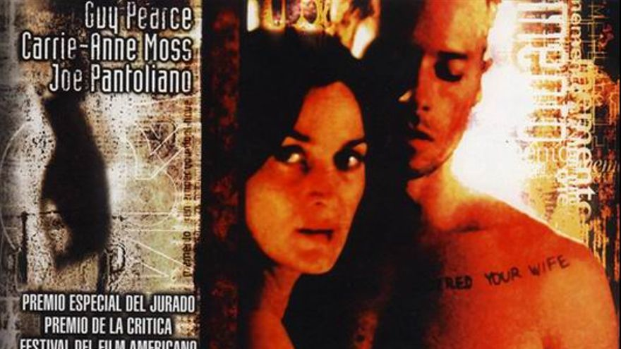 Cartel de 'Memento', de Christopher Nolan