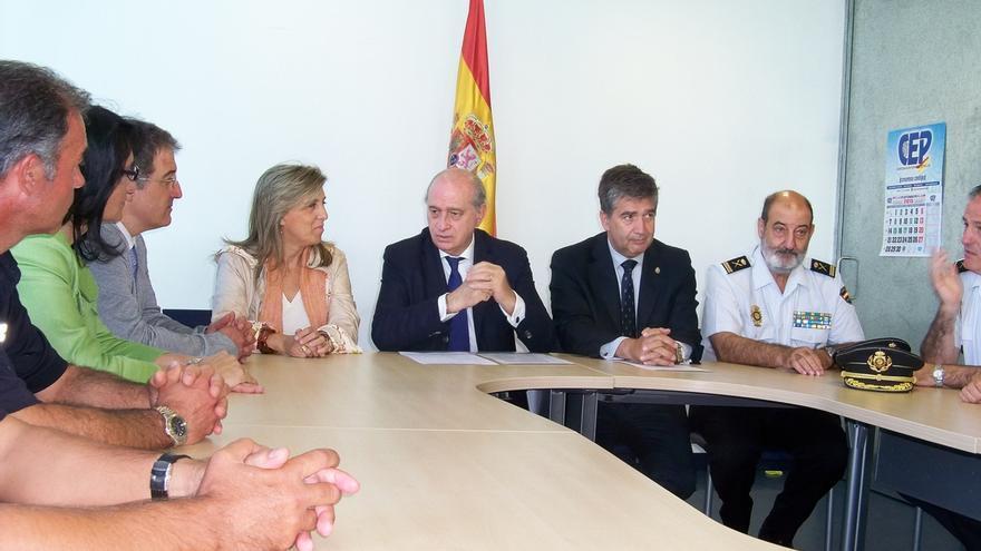 """Fernández Díaz dice que """"todos los indicios apuntan"""" a que los restos encontrados son los de la peregrina"""
