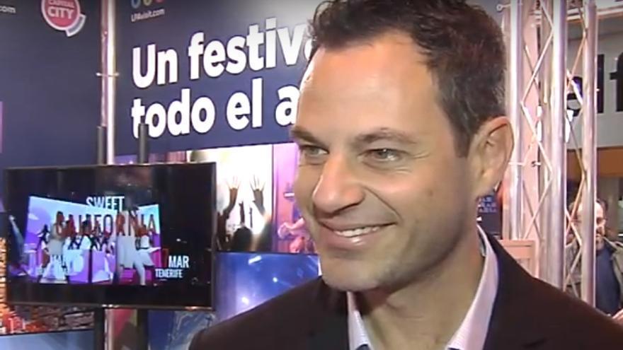 José Alberto Medina, director del esacio cultural 'La Fábrica' de La Isleta.