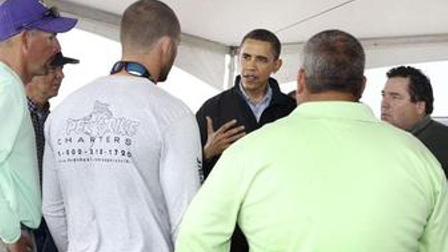 Obama visita el Golfo de México