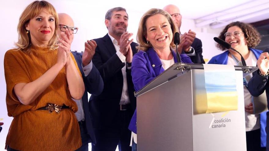 Ana Oramas: CC ha vuelto a plantar la bandera canaria en el Congreso