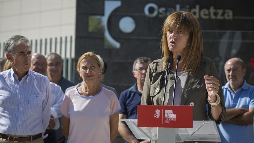 """Mendia defiende que Euskadi necesita """"más que nunca"""" al PSE para que no se pierda en el """"laberinto nacionalista"""""""