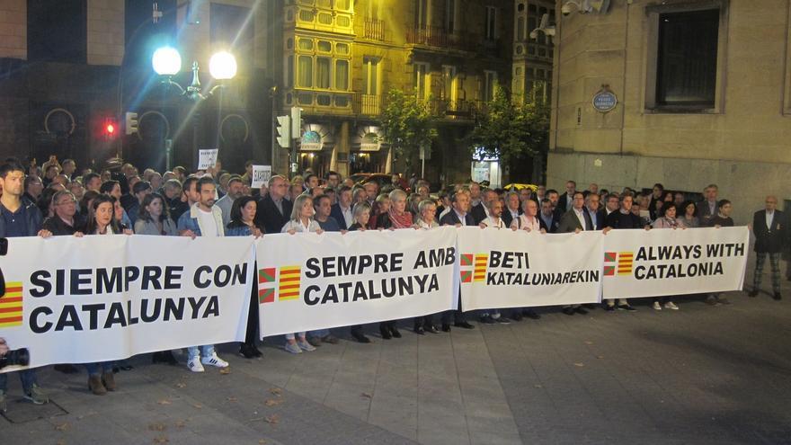 PNV reitera su posicionamiento 'Siempre con Cataluña' y contra el 155 y la encarcelación de consellers