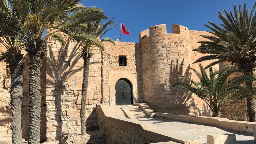 El fuerte Ghazi Mustapha, en Djerba.