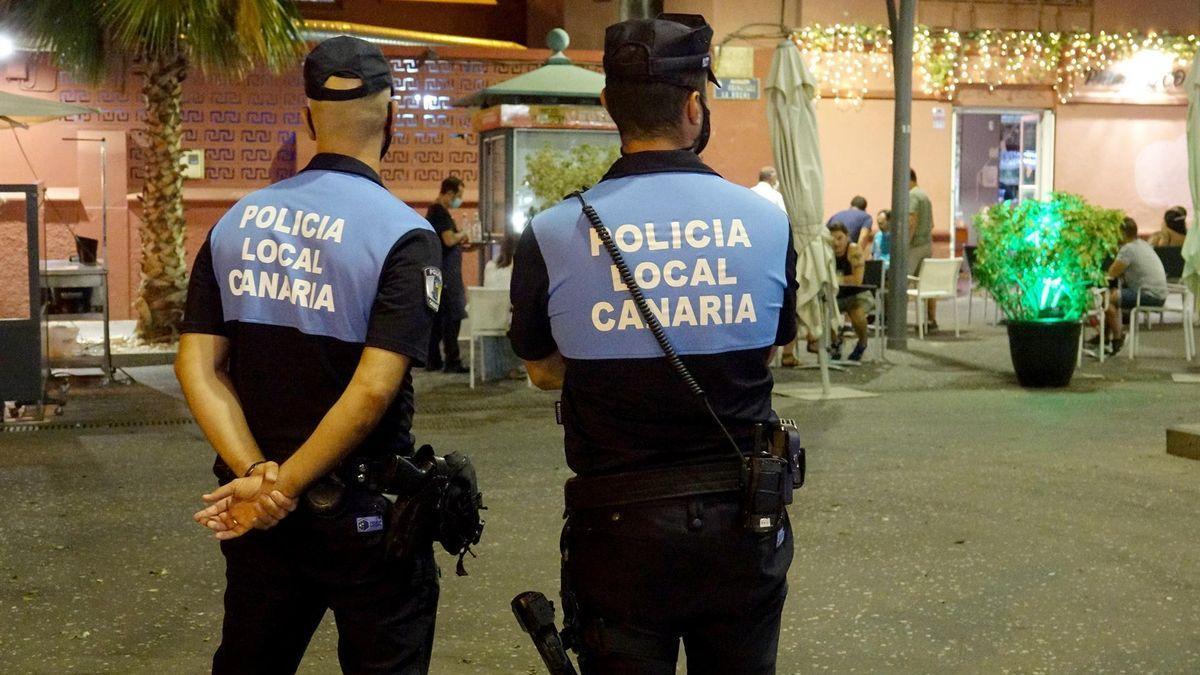 Agentes de la Policía Local de Santa Cruz de Tenerife