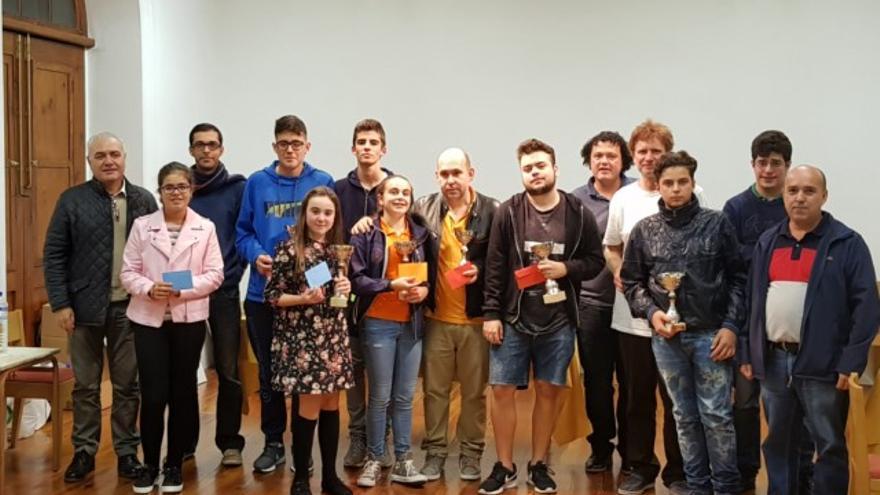 El Torneo de Ajedrez de Navidad de Santa Cruz de La Palma contó en su 25 edición con un alto nivel de participación.