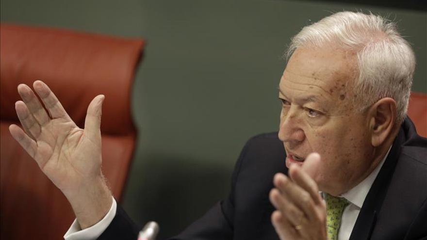 """Margallo reitera que """"Francia no ha pedido nada y España no ha ofrecido nada"""""""