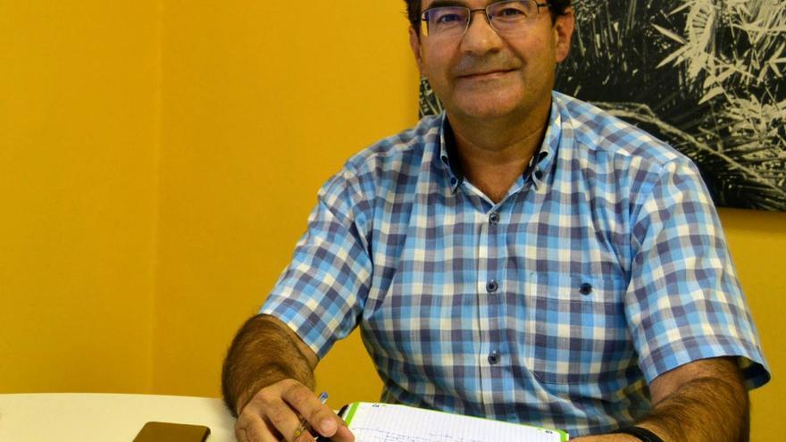 José Adrián Hernández , consejero de Agricultura del Cabildo de La Palma.