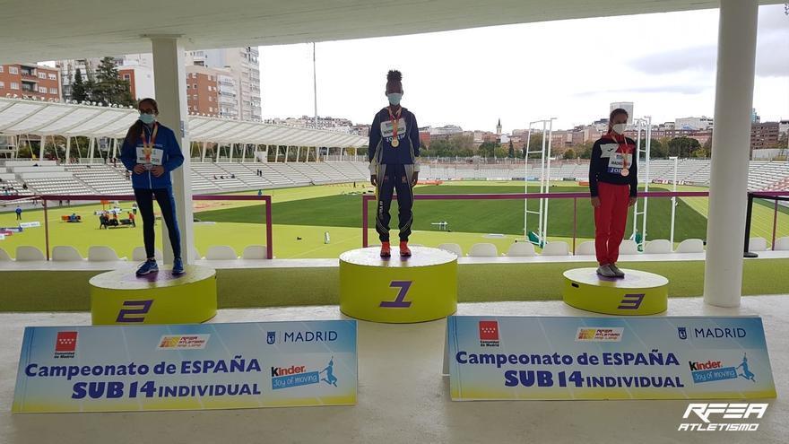 Isabel Werknesh Ruiz Fresco, campeona de España Sub 14 en Trialtón