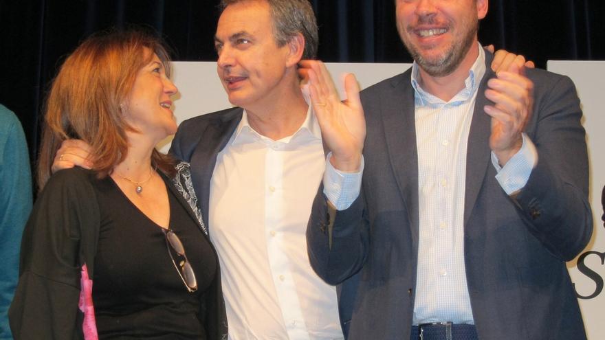 """Zapatero defiende que sólo el PSOE """"garantiza la cohesión social y la convivencia"""" en España"""
