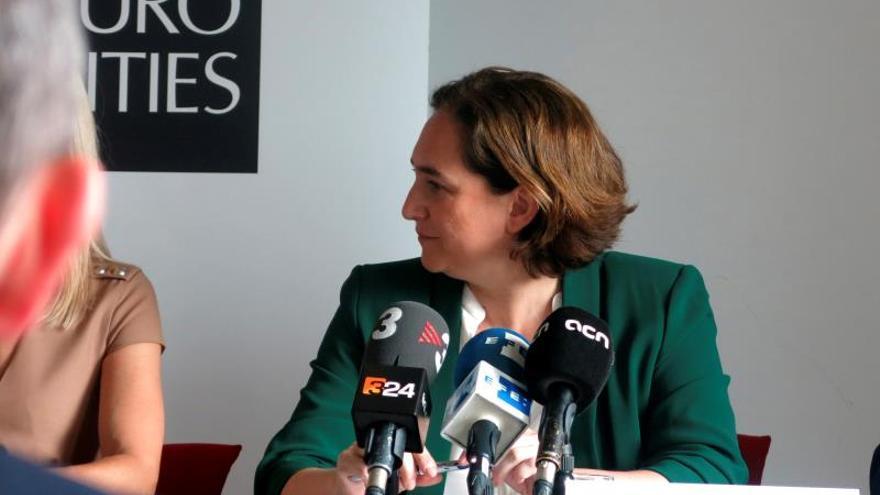 Presentación agenda Eurocities en Bruselas