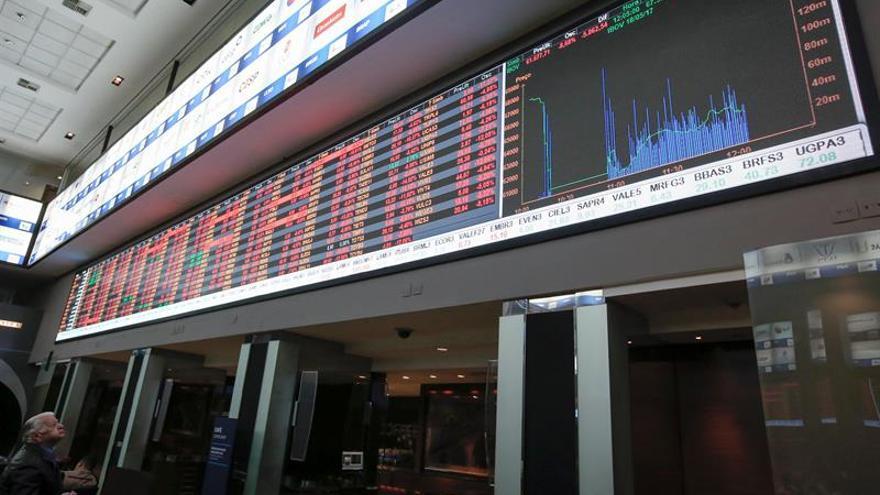 La bolsa de Sao Paulo sube un 0,83 % en la apertura