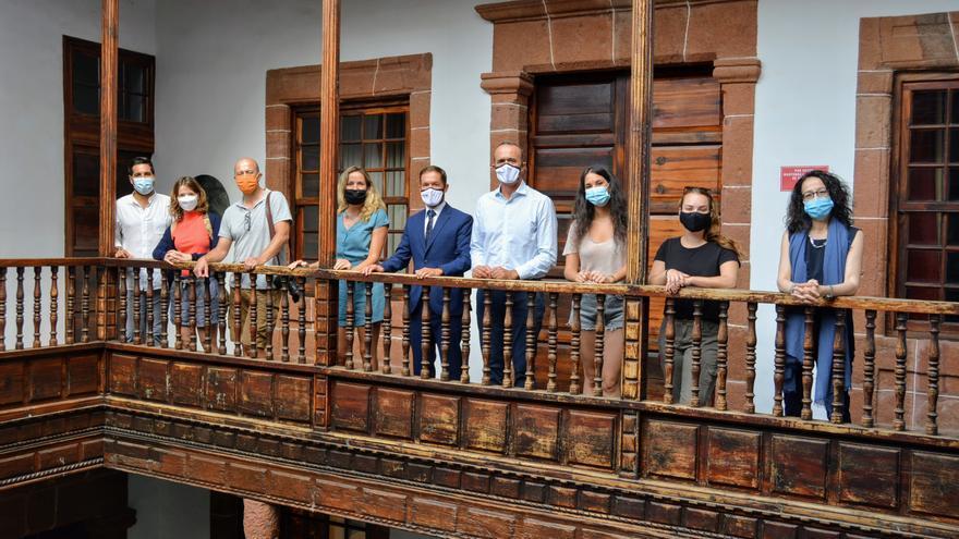 Llega a La Palma el grupo de la OMT que disfrutará de la Isla como destino libre de  COVID-19