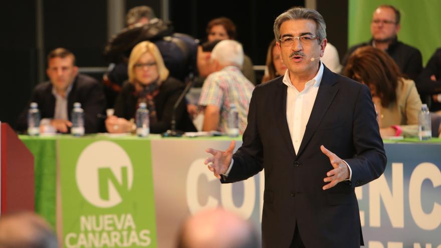 El presidente de Nueva Canarias, Román Rodríguez (ALEJANDRO RAMOS)