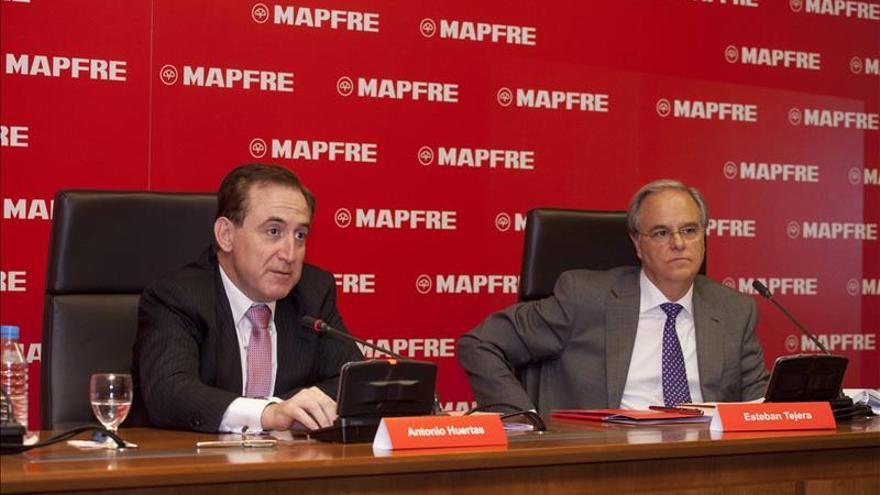 Mapfre elevó su beneficio neto el 6,9 % en 2014, a 845,1 millones de euros