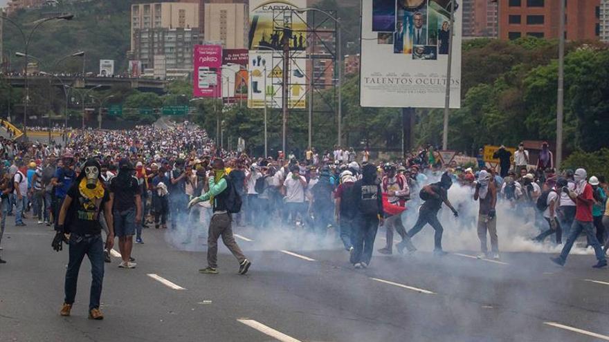 El escenario de protesta y represión se mantiene en Venezuela