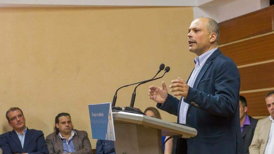 Javier Mederos, Candidato de CC en Güímar.