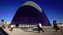 El edificio del Ágora, en la Ciudad de las Artes y las Ciencias de Valencia