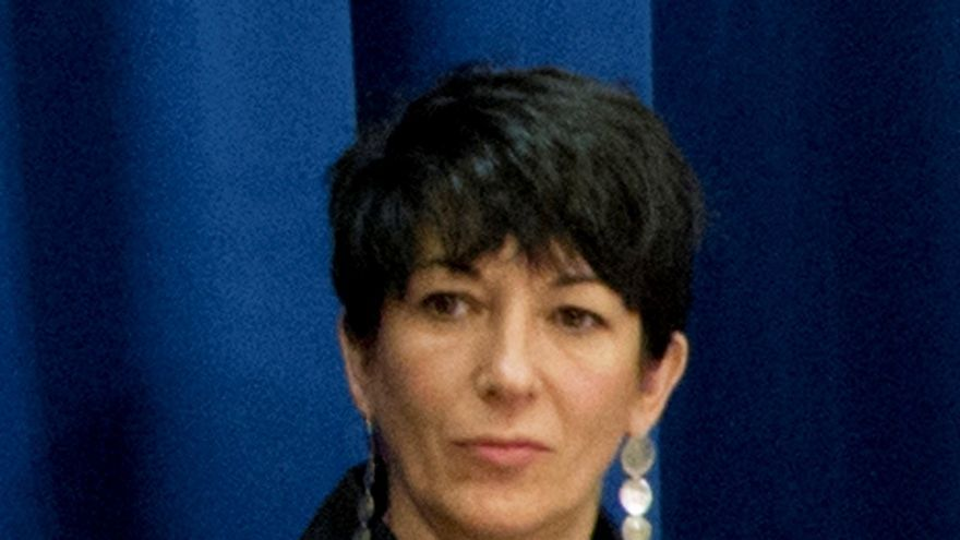 Ghislaine Maxwell, socia del fallecido magnate acusado de abuso de menores Jeffrey Epstei.