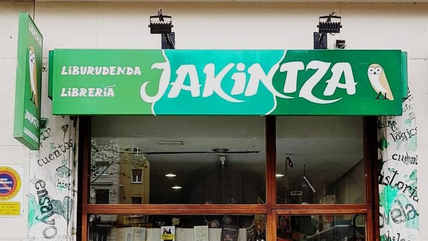 Librería Jakintza en Vitoria