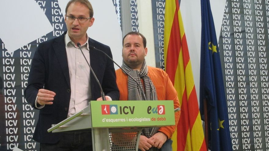 """ICV-EUiA ve """"excluyente"""" la declaración de soberanía de CiU y ERC pero confía en modificarla"""