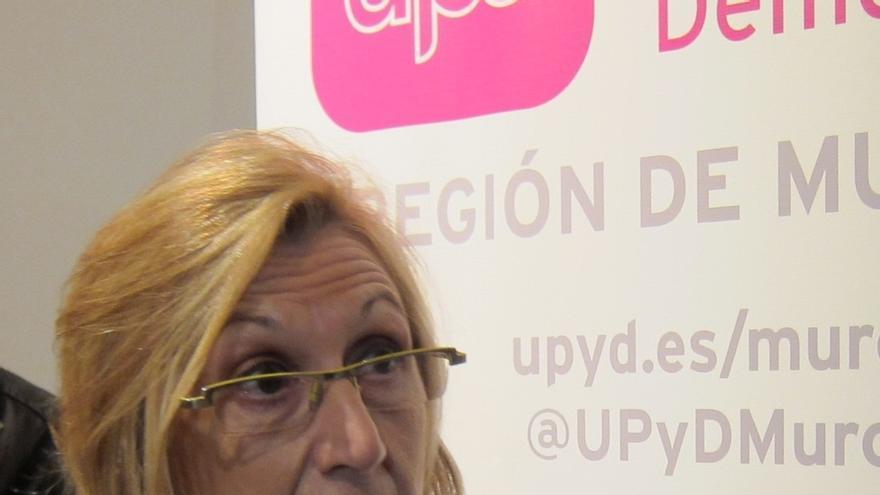 Rosa Díez (UPyD) visita este martes la ciudad de Murcia