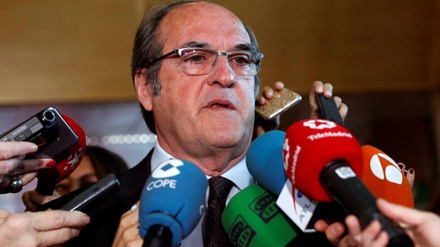 El portavoz del PSOE en la Comunidad de Madrid, Ángel Gabilondo / EFE