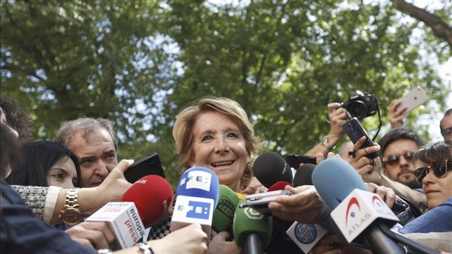 Aguirre dice que defenderá los valores de PP desde el gobierno o la oposición