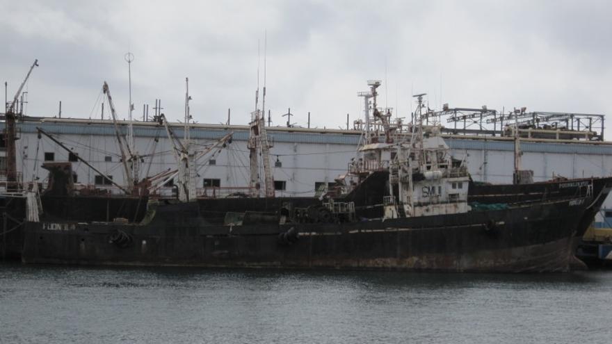 El barco 'Poong Lim 11'