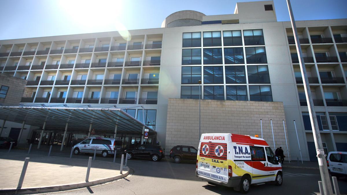 Hospital de la Ribera, en Alzira.