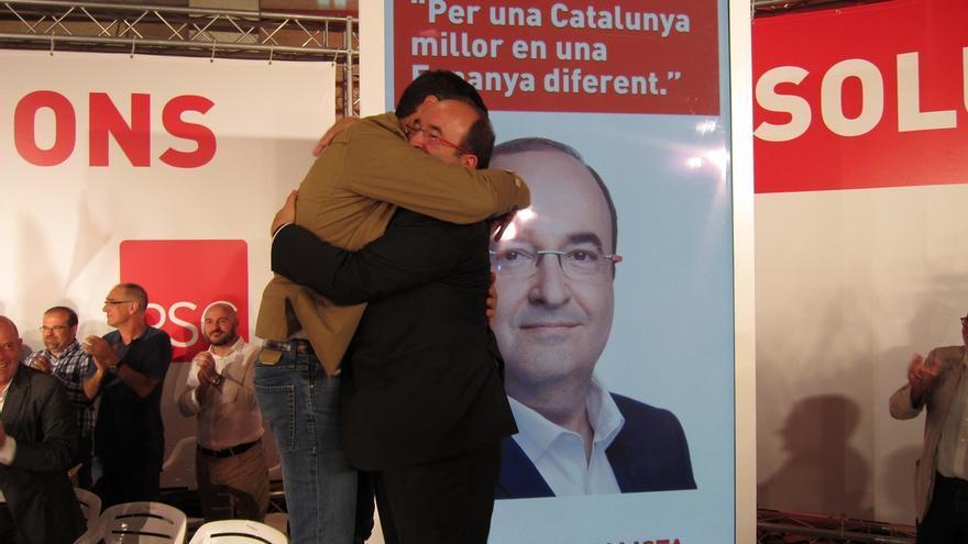 """Iceta pide el voto para hacer """"una Cataluña mejor en una España diferente"""""""